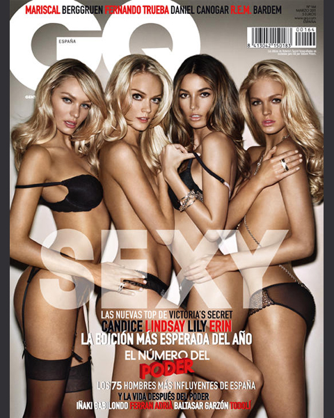 January 2011 :: GQ (UK) by Vincent Peters