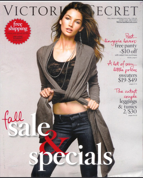 Fall 2010 :: Victoria's Secret catalogue