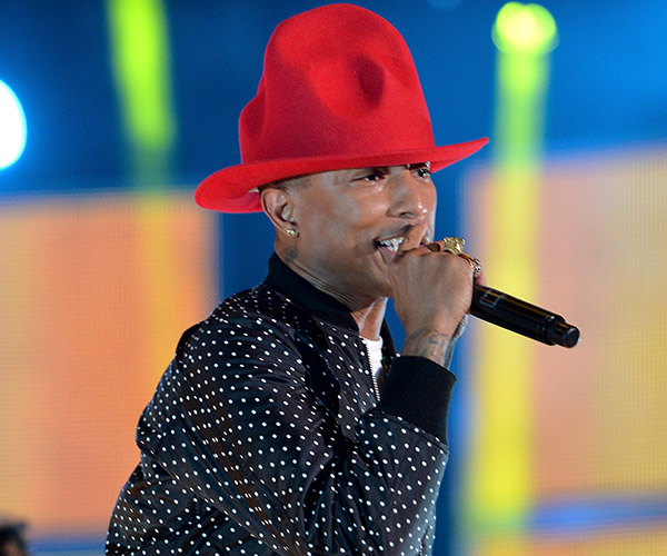 Pharrell Williams (Mike Coppola/Getty Images)