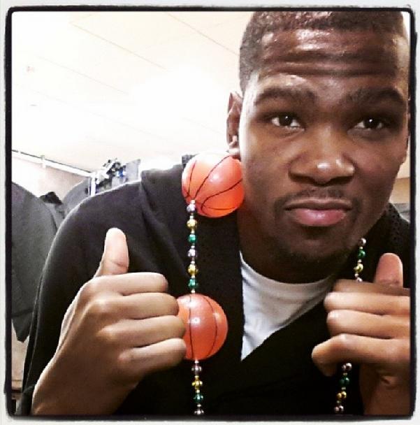 Kevin Durant (via Instagram)