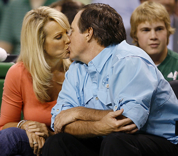 Bill Belichick and Linda Holliday :: SI