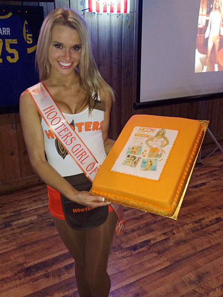 Tyler Suess :: Photo Courtesy of Hooters