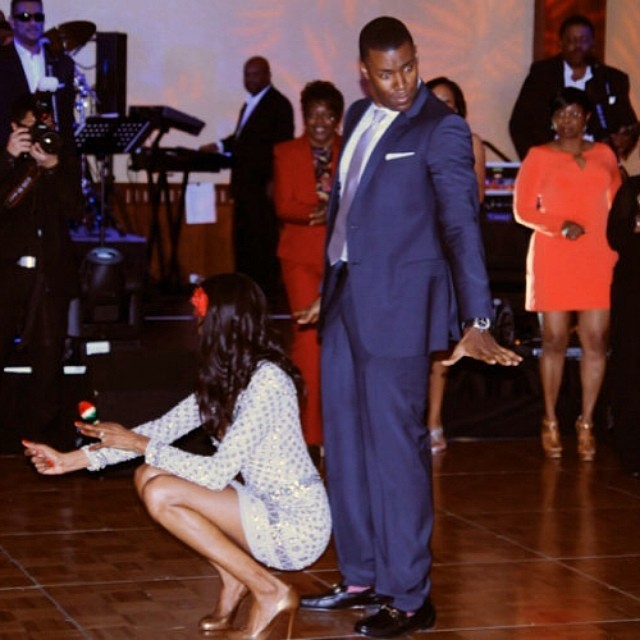 @quianagrant: That moment when you drop it low and your fiancé didn't know you could do it HAHAHAHHA #tbt to last Saturday! #hisface #priceless