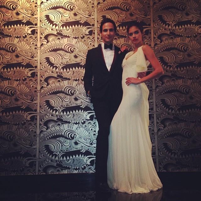 @sarasampaio: Feeling million bucks in this amazing zac Posen dress!!!!!! @zac_posen ️️️ #oscarweekend