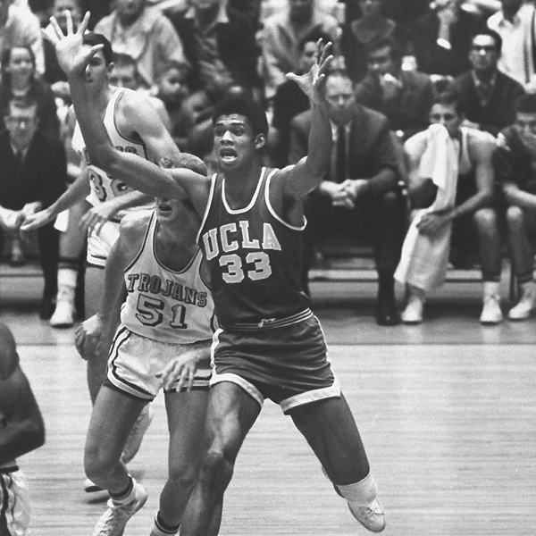 Ferdinand Lewis Alcindor (now Kareem Abdul-Jabbar), UCLA (1966-1969)