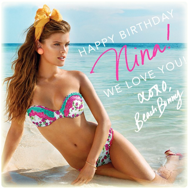 Nina Agdal's video with Beach Bunny Swimwear is just another