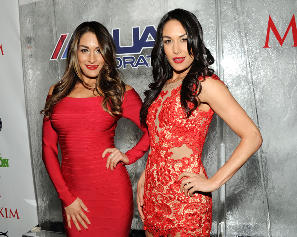 Nicki and Brie Bella :: Getty Images
