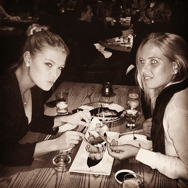 @ninaagdal: My date is hotter than yours @shainafessler #nobu57 deliciousness