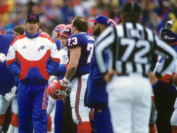 Jim Kelly (1993) :: John Biever/SI