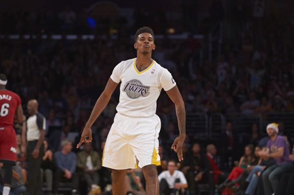 Nick Young ::  John W. McDonough/SI