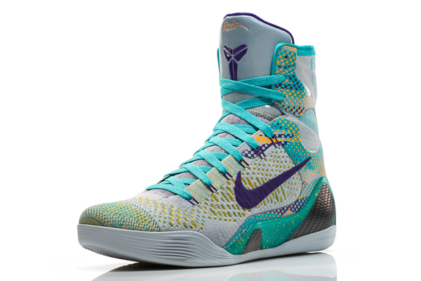 Nike's Kobe 9 Elite Hero sneakers for Lakers guard Kobe Bryant. (Nike)