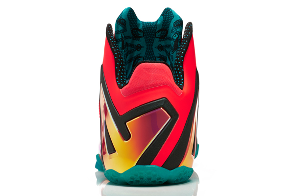 Nike's LeBron 11 Elite Hero sneakers for Heat forward LeBron James. (Nike)