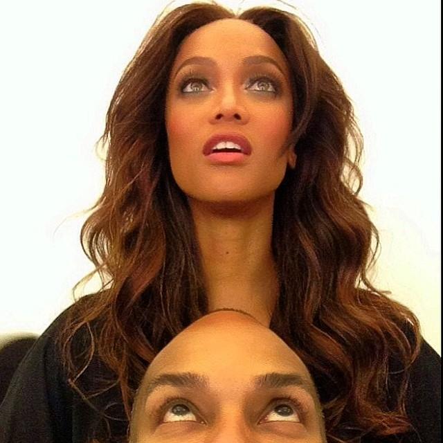 @tyrabanks See where @iamsamfine and I are looking? Yep. We're looking up...at your future.