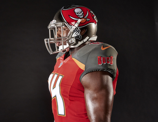 outlet store c3a84 9f312 New Tampa Bay Buccaneers uniform features throwback orange ...