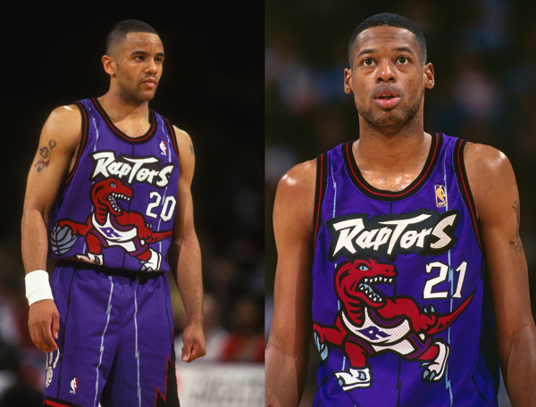 low priced ec543 481a1 Raptors to wear purple 'Dino' throwback jerseys during 2014 ...