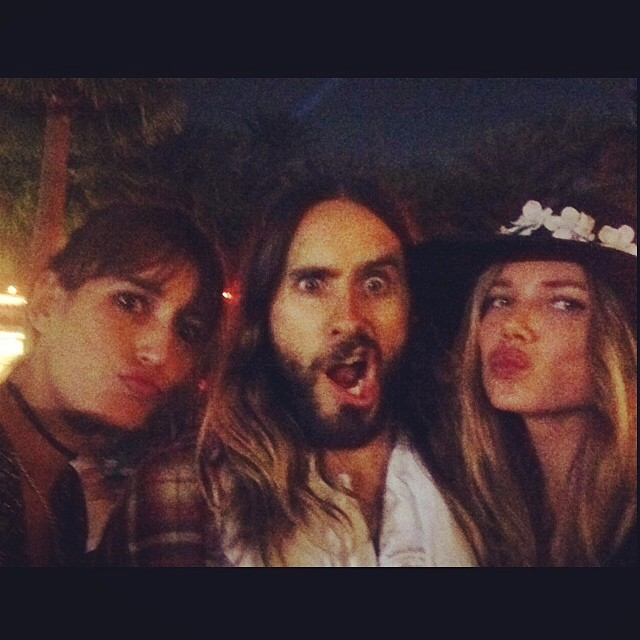 @onemanagement: Bumping into old friends. #coachella #coachella2014 #alikenztakeover #jaredleto @jaredleto @kenzafourati @aliciarountree