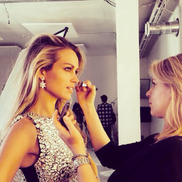 @pnemcova: #backstage on a #PhotoShoot 4 @Chopard & @mercury_russia. Earrings from#Cannes2014 #RedCarpet collection.