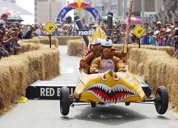 Red Bull Soapbox Race :: Enrique Castro-Mendivil