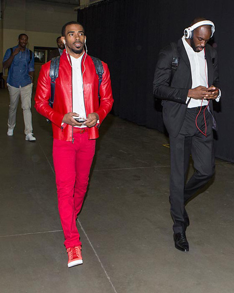 Mike Conley and Quincy Pondexter :: Getty Images