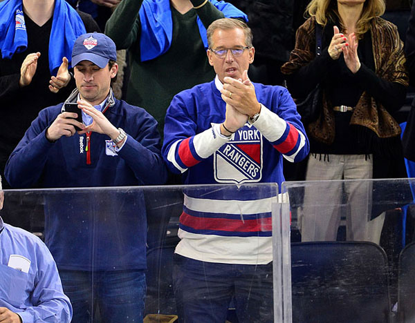 Brian Williams, New York Rangers vs. Philadelphia Flyers :: Getty Images
