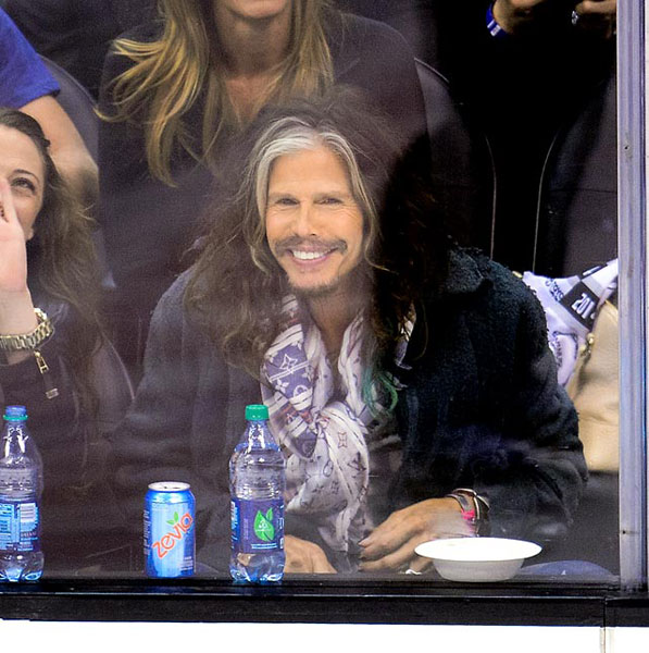 Steven Tyler,                      Los Angeles Kings vs. San Jose Sharks :: Getty Images