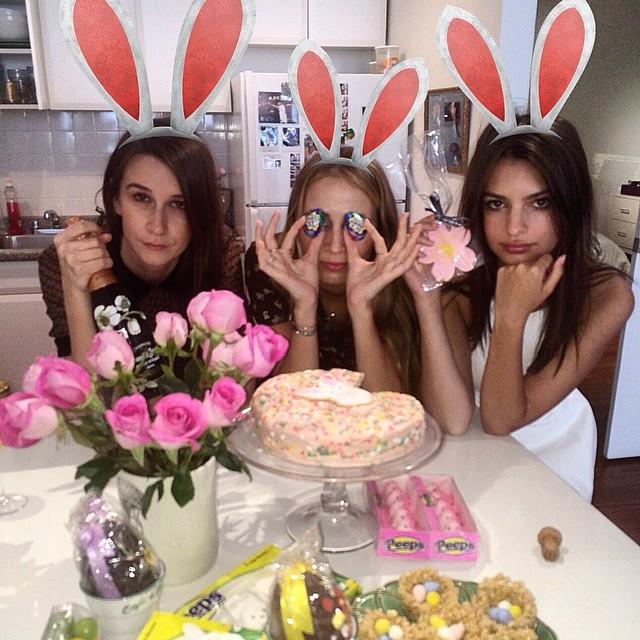 @emrata: Easter wenches @harleyvnewton @bikinikilled @mikenouveau @themisshapes