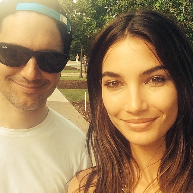 @derekkettela: Regram from @lilyaldridge Just finished 2 days shooting with gorgeous woman avec @norabordjah @valgherman @888dre @radicalpizza @sallygriffo @ho2go #lilyaldridge
