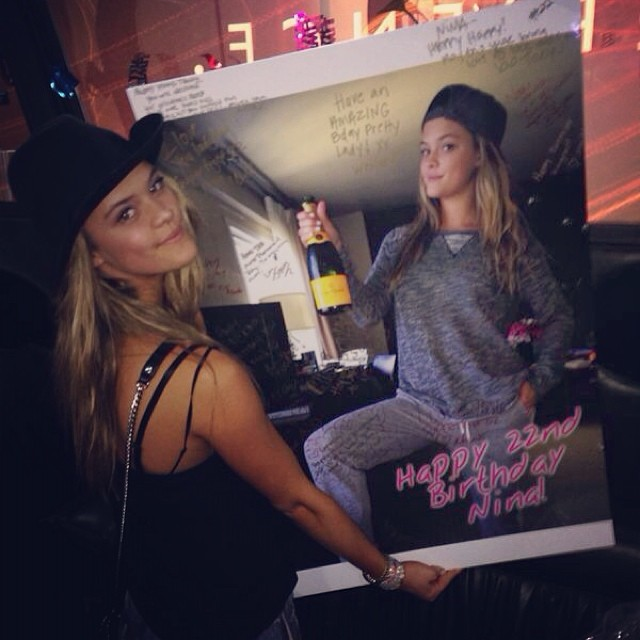 @ninaagdal #best #bday #ever #miami #supertight22 #homies #partybus #boomers #ultra #rage #myheadhurts #myfacehurts #getmeanewbrain #detox #justkidding #oliviaormos #missyoualready