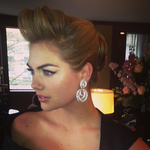 @tracymurphymua Red Carpet London! Makeup by moi! @kateupton @peterbutlerhair @annickopp @bobbibrown