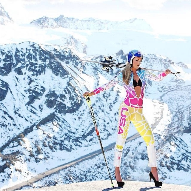 @lindseyvonn: #tb @brikospa shoot in Austria. @HEAD_SKIS