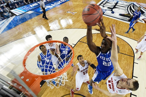 Alex Poythress would not be denied.  (Getty Images)