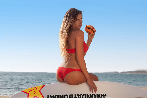 Anastasia Ashley :: Courtesy of Carl's Jr.