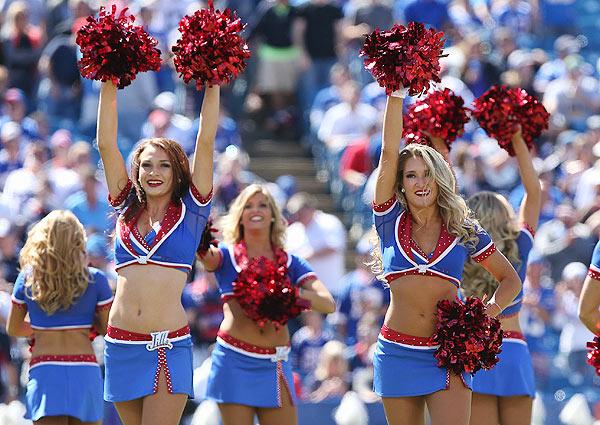 Think, Buffalo bills cheerleaders can not
