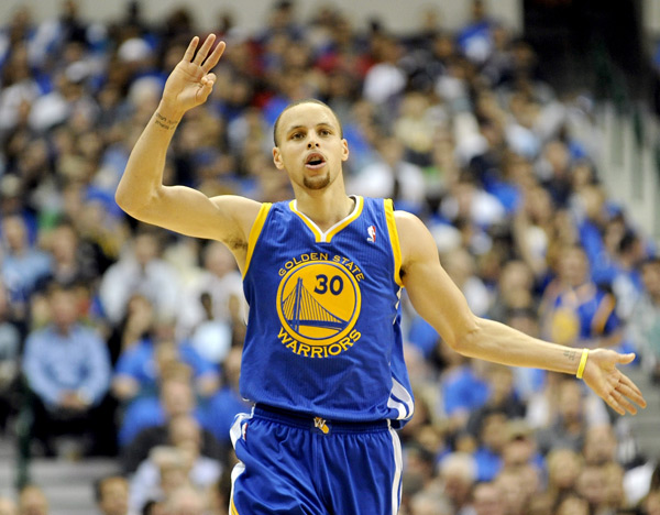 Stephen Curry :: AP