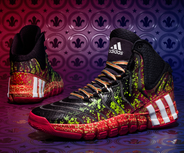 "Damian Lillard's 2014 All-Star ""Crazyquick 2"" sneakers by Adidas. (Adidas)"