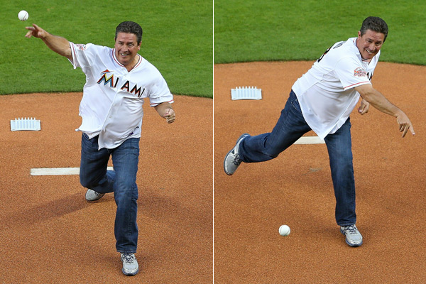 Dan Marino (Marlins) :: Getty Images