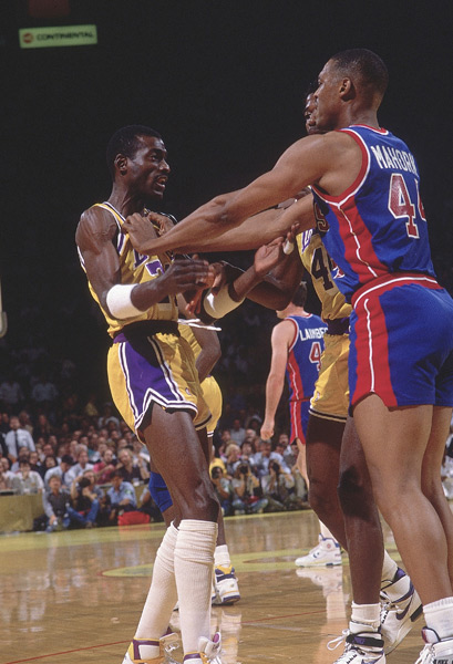 Michael Cooper and Rick Mahorn :: Peter Read Miller/SI