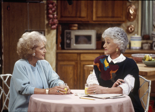 Betty White and Bea Arthur :: Getty Images