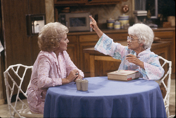 Betty White and Estelle Getty :: Getty Images
