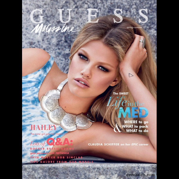 Stevie and Mada for GUESS
