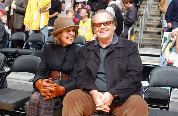 Jack Nicholson and Diane Keaton :: Getty Images