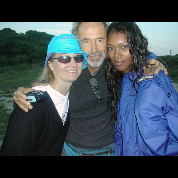 Montauk (with editor Diane Smith and photographer Walter Iooss), 2004