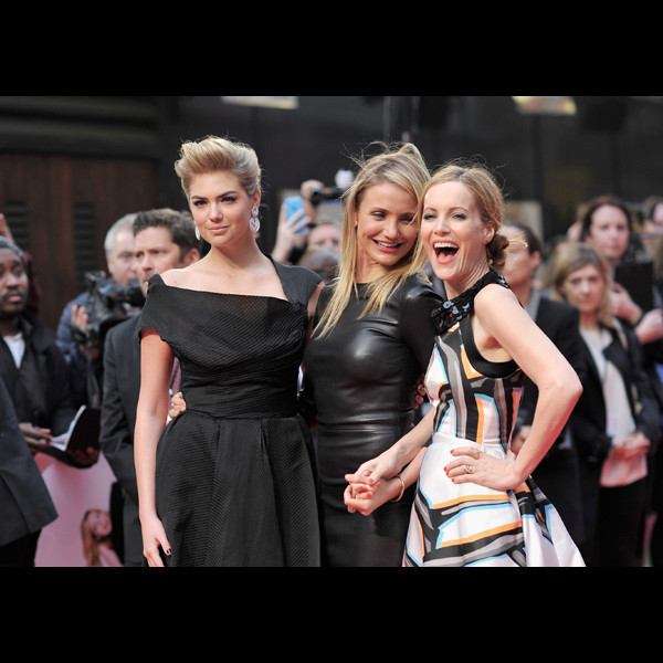 Kate Upton, Cameron Diaz and Leslie Mann :: Getty Images