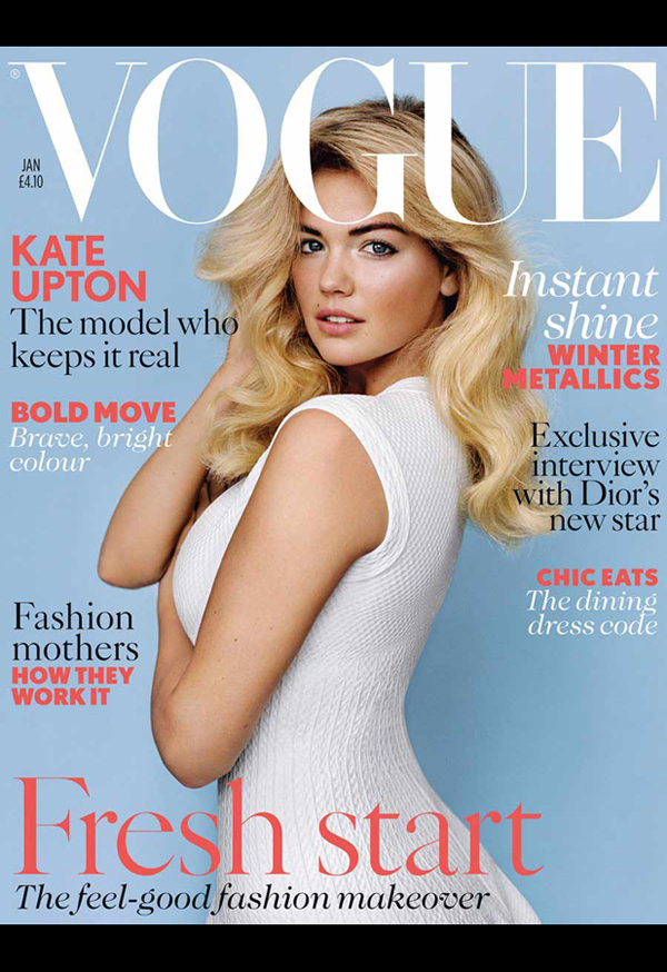 British Vogue, January 2013