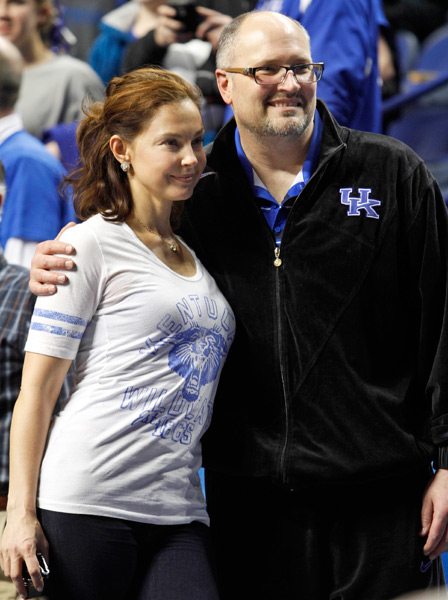 Rex Chapman and Ashley Judd (2013) :: AP