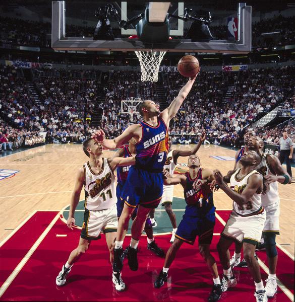 Rex Chapman (1997) :: John W. McDonough/SI