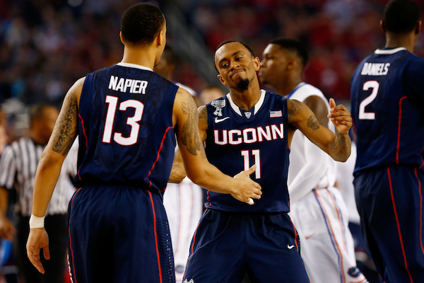 Boatright and Napier. (Getty Images)