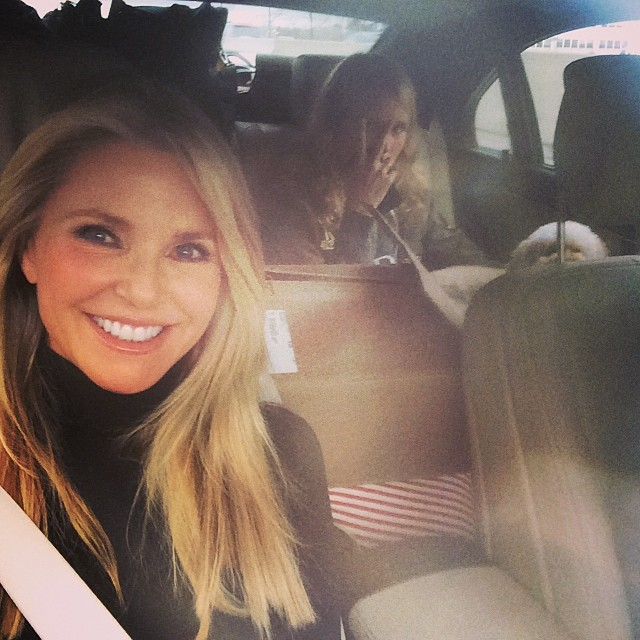 @christiebrinkley: Full Load!