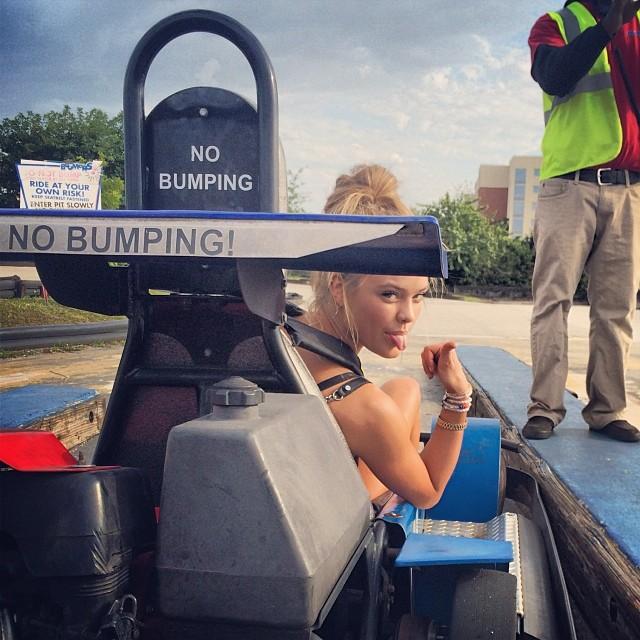 @ninaagdal: No bumping, yeah rightttt #bestbirthdayever