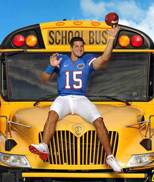 Tim Tebow :: Bill Frakes/SI